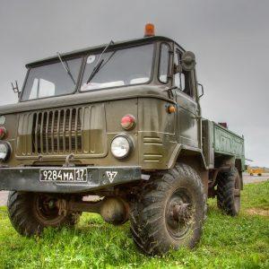 GAZ66 Harckocsi vezetés