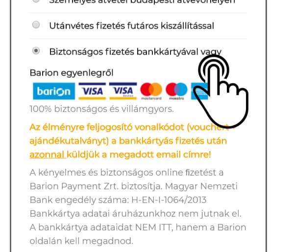biztonságos fizetés bankkártyával