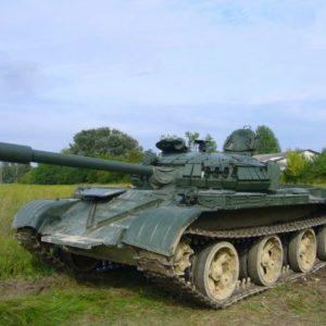 T-59 tank vezetés tapolcán